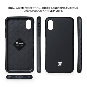 iPhone XS Max Rugged Protective Case - Black