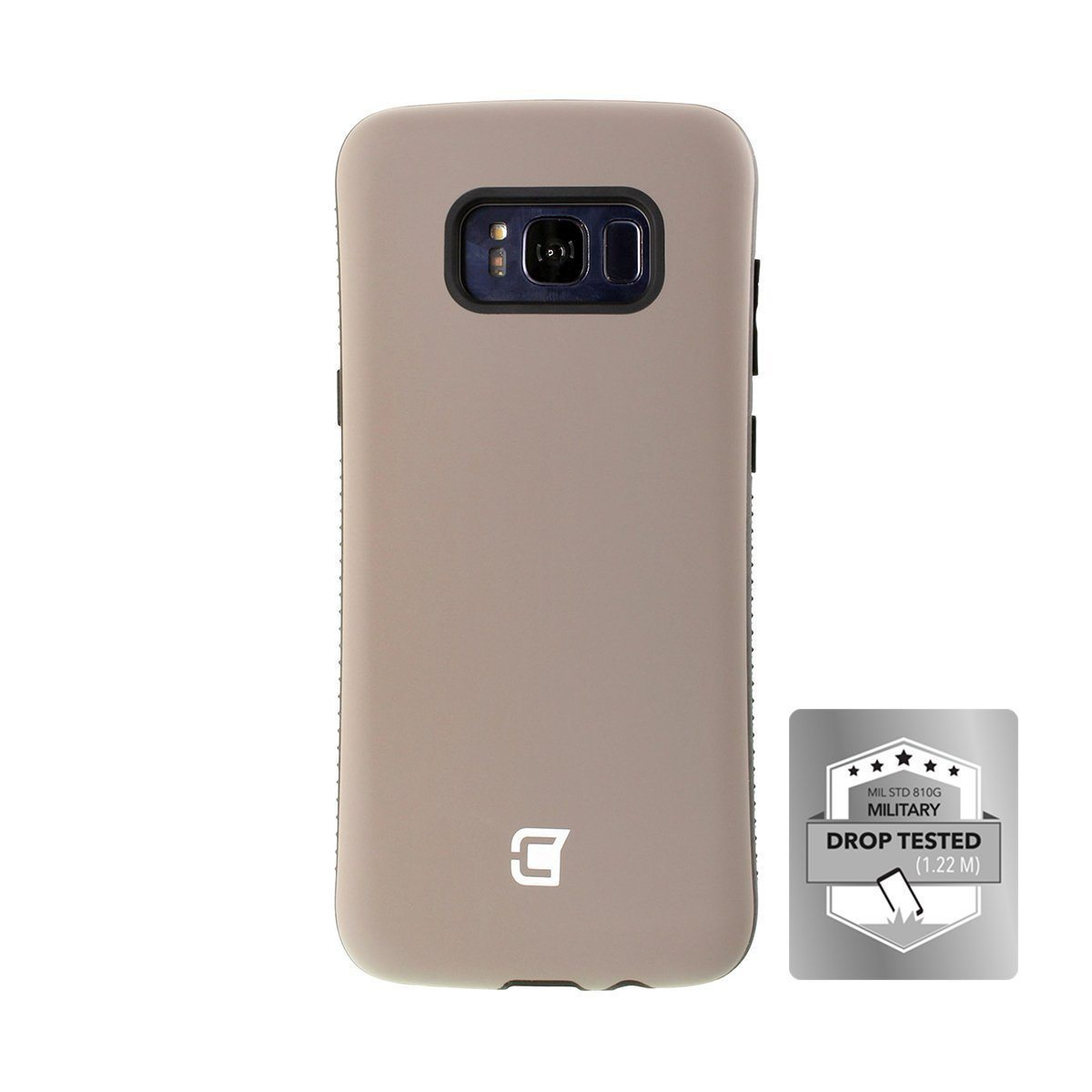 Samsung Galaxy S8 Plus Rugged Protective Case - Gun Metal