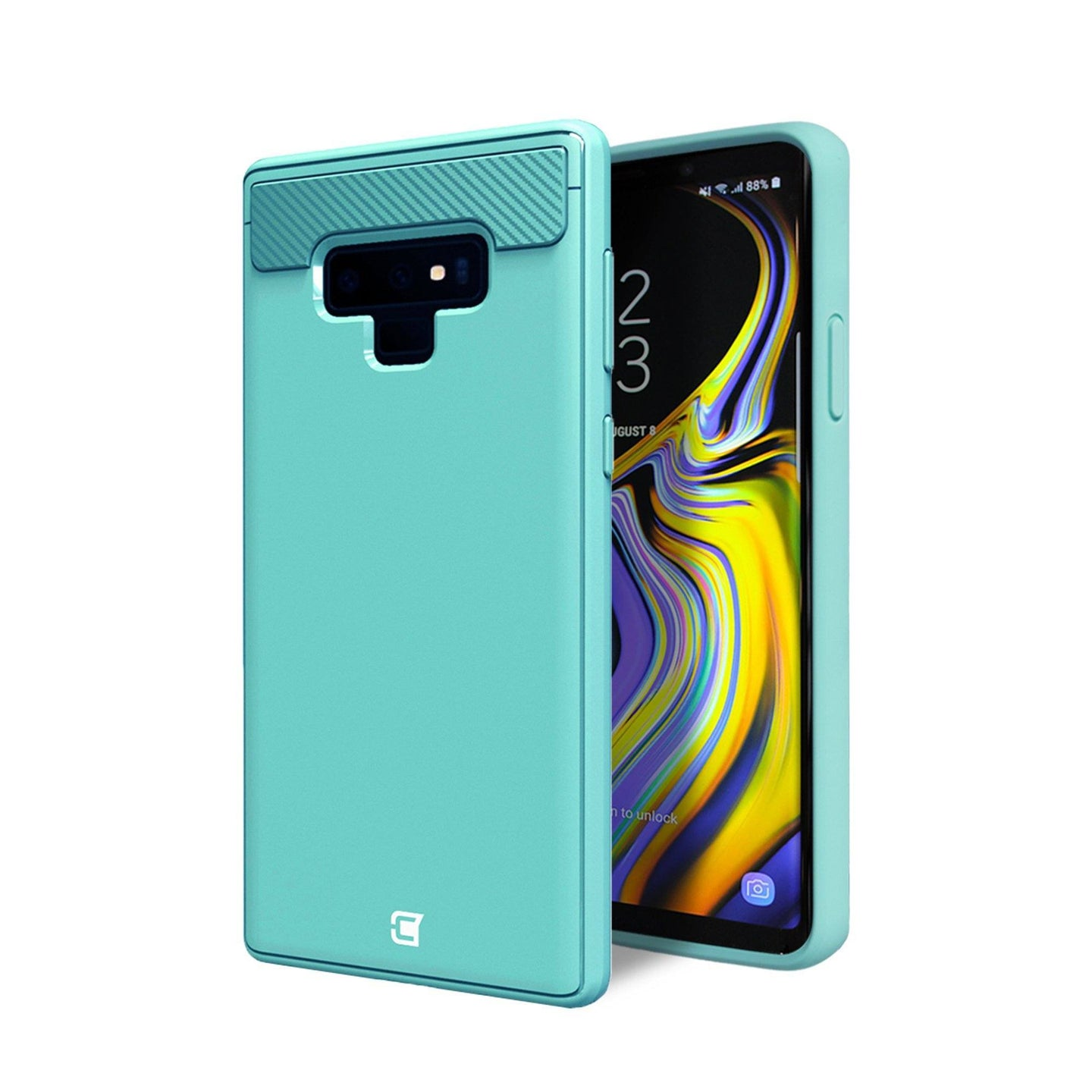Samsung Galaxy Note 9 - Skin Shield Case - Turquoise