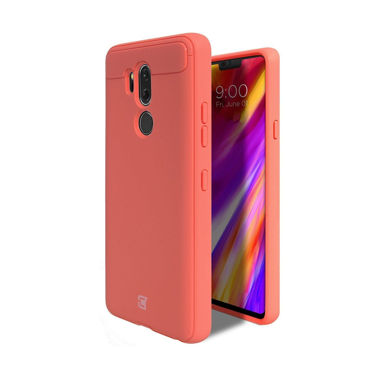 LG G7 ThinQ - Skin Shield Case - Pink