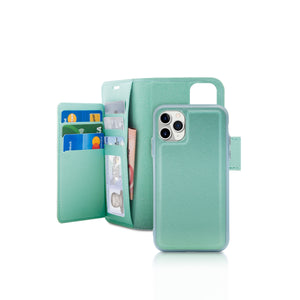 iPhone 11 Pro - Sunset Blvd Folio Wallet Case - Green