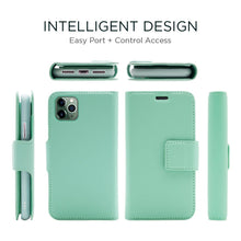 Load image into Gallery viewer, iPhone 11 Pro - Sunset Blvd Folio Wallet Case - Green