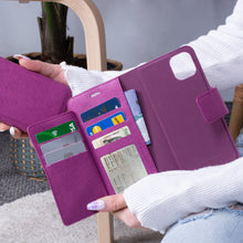 Load image into Gallery viewer, iPhone 11 Pro - Sunset Blvd Folio Wallet Case - Purple