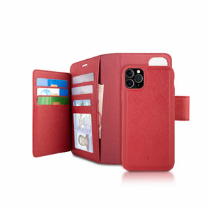 iPhone 11 Pro Max - Sunset Blvd Folio Wallet Case - Red