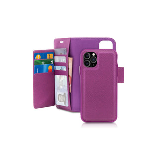 iPhone 11 Pro Max - Sunset Blvd Folio Wallet Case - Purple