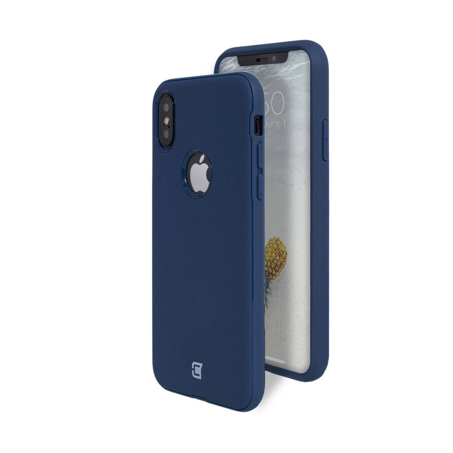 iPhone X / XS - Skin Shield Case - Navy