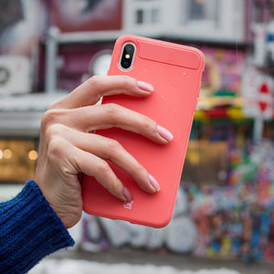 iPhone X / XS - Skin Shield Case - Pink