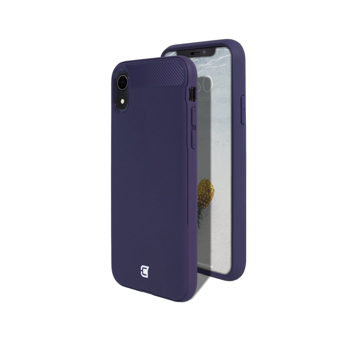iPhone XR - Skin Shield Case - Purple