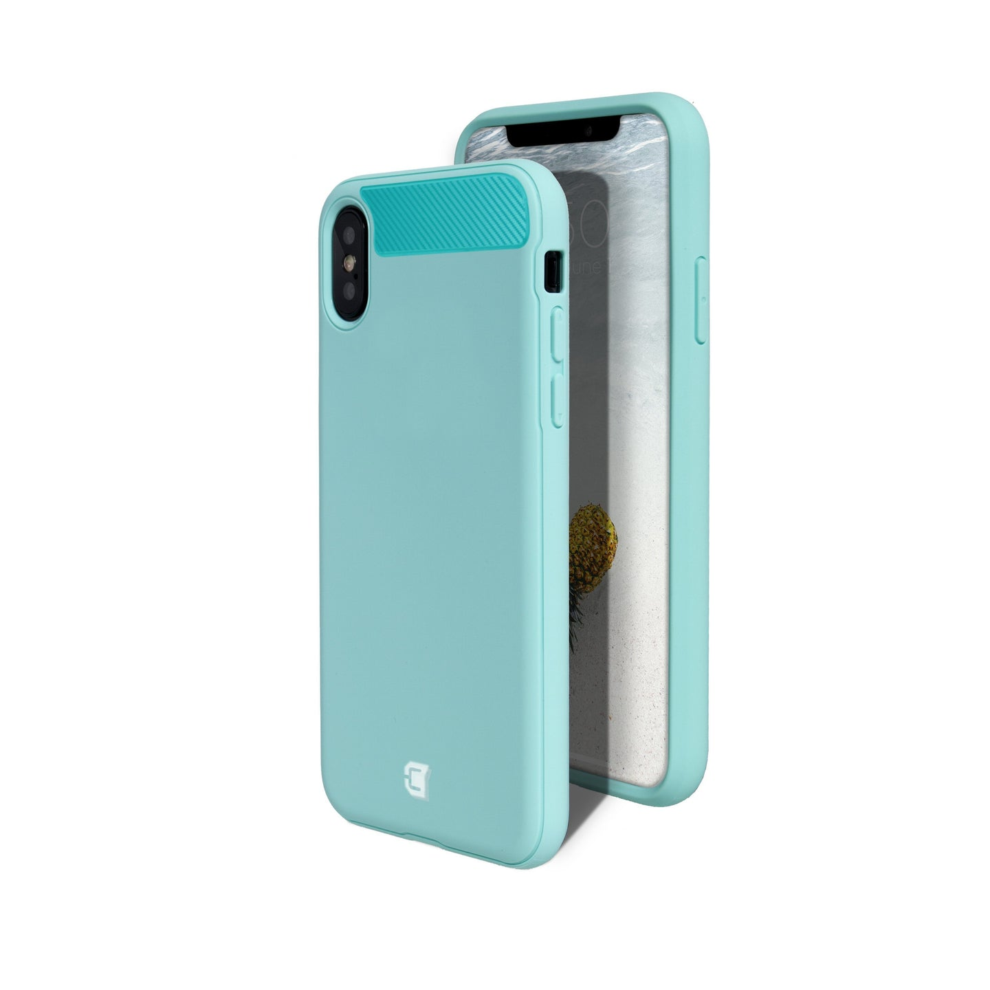 iPhone XS Max - Skin Shield Case - Turquoise