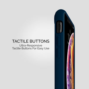 iPhone XS Max - Skin Shield Case - Navy