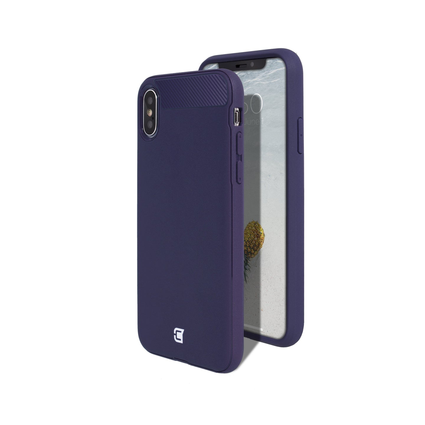 iPhone XS Max - Skin Shield Case - Purple