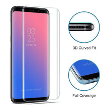 Load image into Gallery viewer, Samsung S8 Plus Curved Full Adhesive Tempered Glass - Screenflex