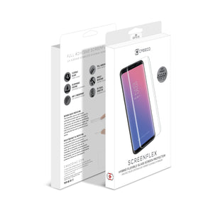 Samsung Galaxy S9 Plus Curved Full Adhesive Tempered Glass - Screenflex
