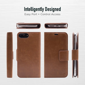 iPhone 7 Plus / 8 Plus - Bond Magnetic Folio Wallet Case