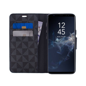 Samsung Galaxy S9 Plus - Park Ave Magnetic Folio Wallet Case - Blue