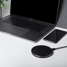 Load image into Gallery viewer, Fast Wireless Charger - Stealth - Black