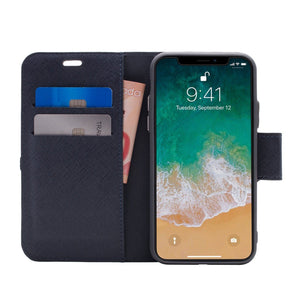 iPhone XR - Broadway Magnetic Folio Wallet - Blue