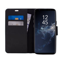 Load image into Gallery viewer, Samsung Galaxy S9 Plus - Broadway Magnetic Folio Wallet - Black