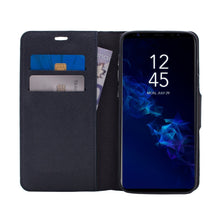 Load image into Gallery viewer, Samsung Galaxy S9 - Broadway Magnetic Folio Wallet - Blue