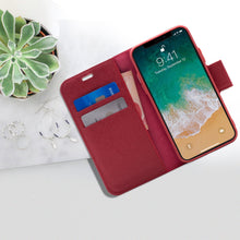 Load image into Gallery viewer, iPhone 11 Pro - Broadway Magnetic Folio Wallet - Red