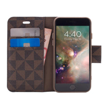 Load image into Gallery viewer, iPhone 8 / 7 - Park Ave Magnetic Folio Wallet Case - Brown