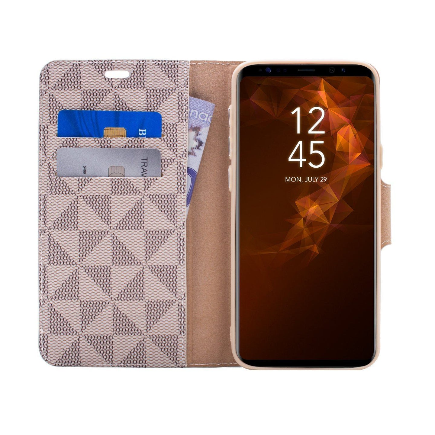 Samsung Galaxy S9 Plus - Park Ave Magnetic Folio Wallet Case - Gold