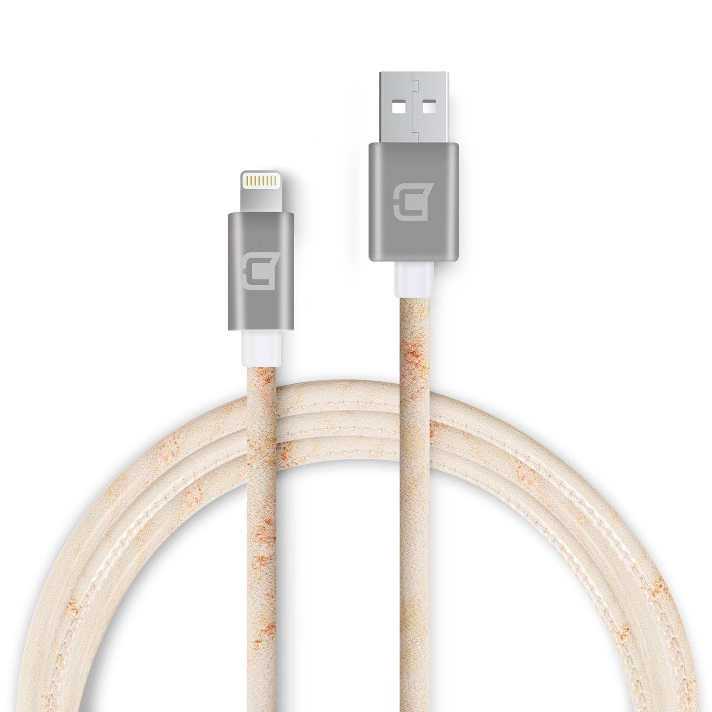 Marble Lightning Cable - Gold - 1.5 Meter