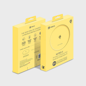 Super Fast Wireless Charger - Nitro II - Lemon Yellow | App Store Canada
