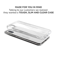 Load image into Gallery viewer, iPhone XR Slim Clear Protective Case