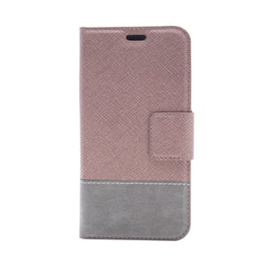 iPhone 8 Plus / 7 Plus - Broadway Magnetic Folio Wallet - Rose Gold