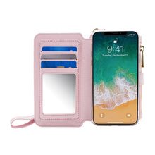 Load image into Gallery viewer, iPhone XS / X - Women's Wristlet Clutch Wallet Case - Rodeo Dr