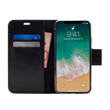 Load image into Gallery viewer, iPhone XR - Bond Magnetic Folio Wallet Case