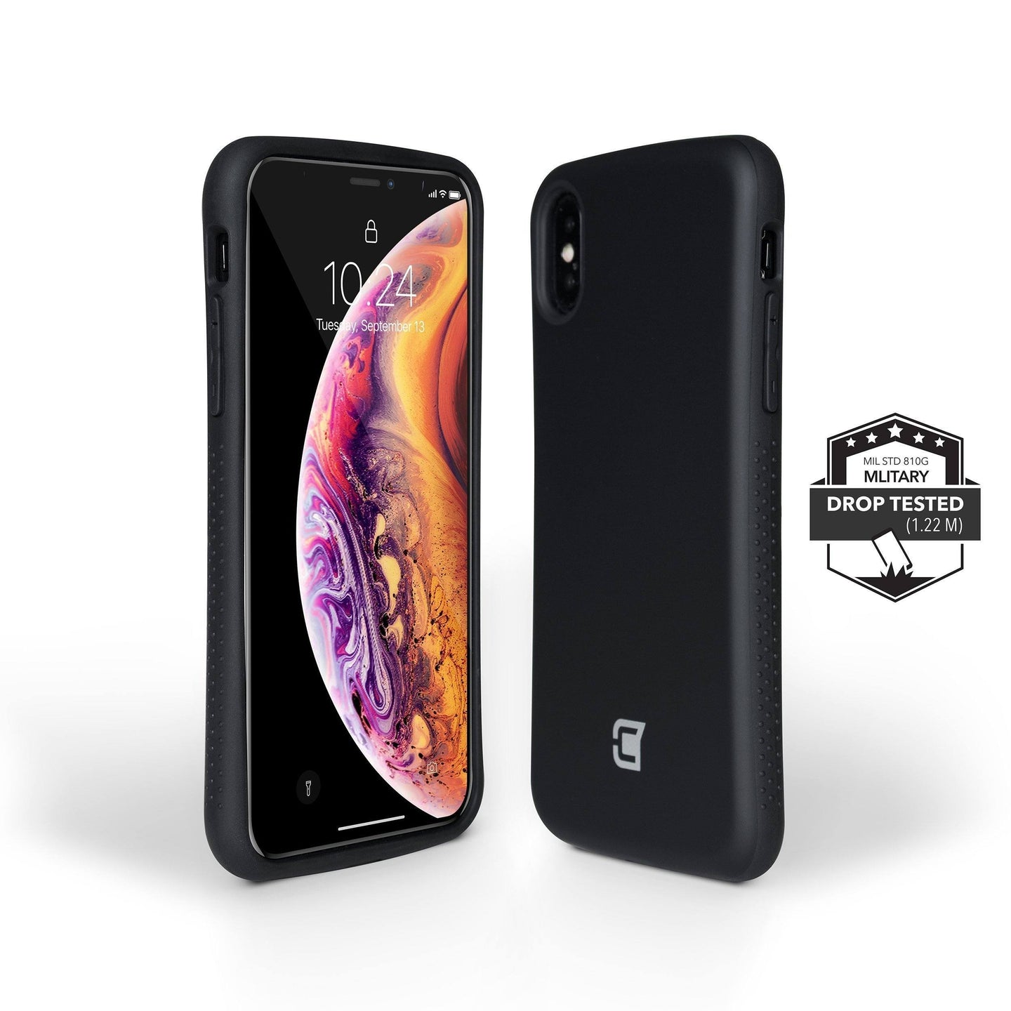 iPhone XS / X Rugged Protective Case - Black