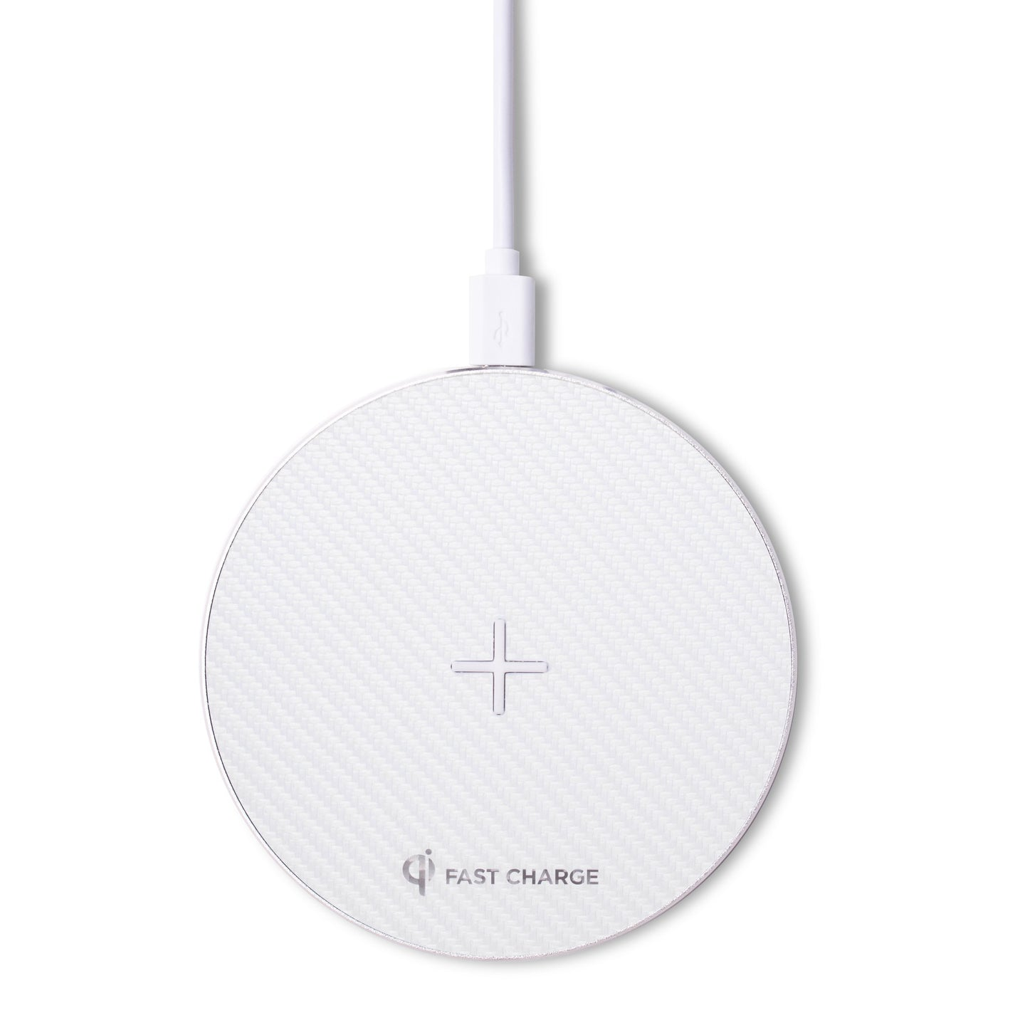 Fast Wireless Charger - Stealth - White