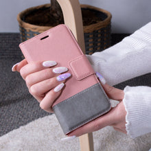Load image into Gallery viewer, iPhone 11 - Broadway Magnetic Folio Wallet Case - Rose Gold