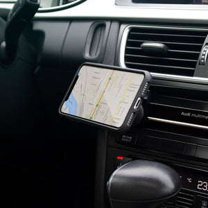 Magnetic Car Dash Mount Holder - With 6 Powerful Magnets