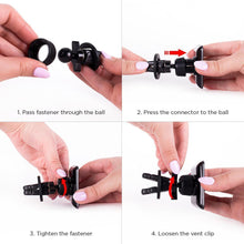 Load image into Gallery viewer, Magnetic Car Vent Mount Holder - With 6 Powerful Magnets