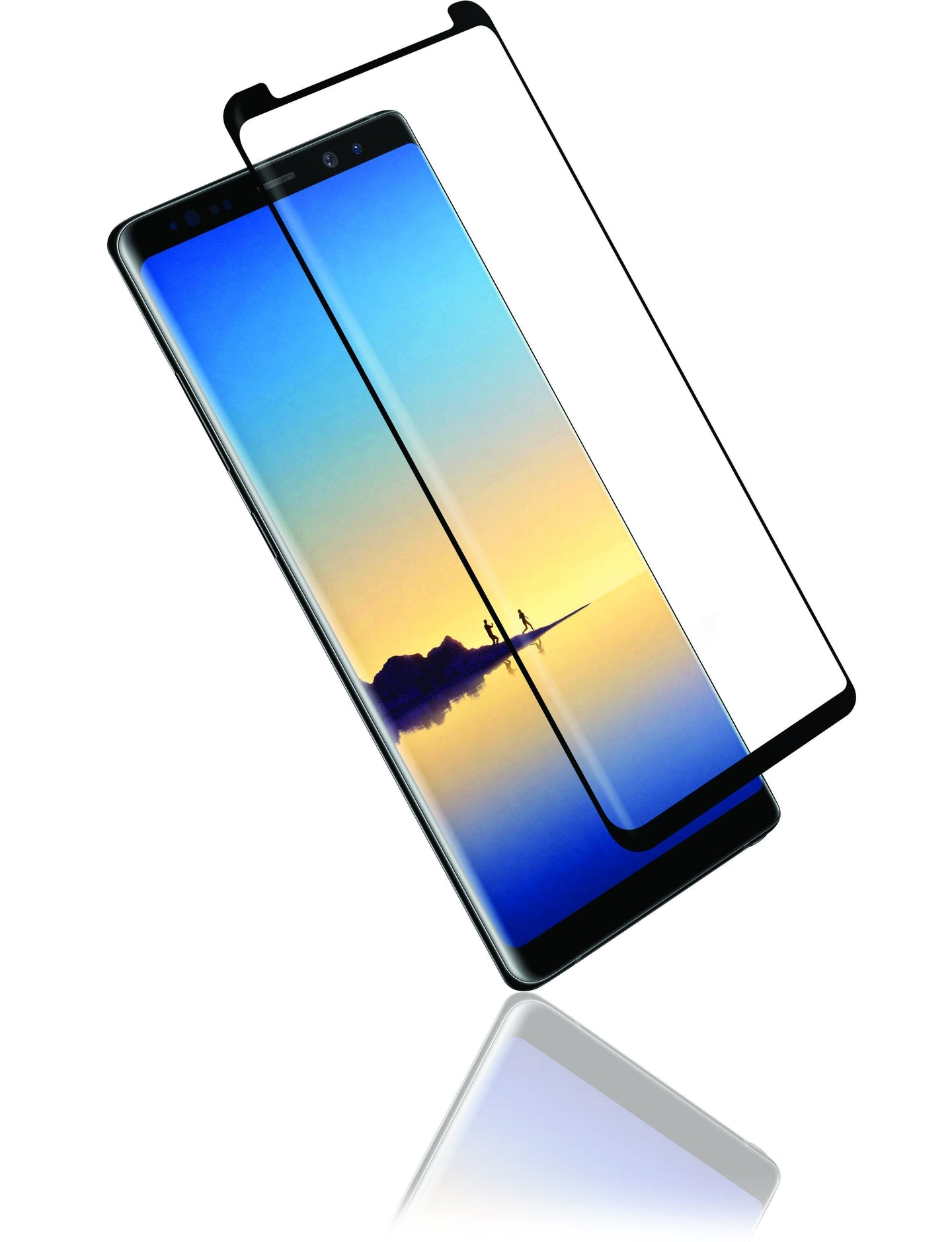 Case Friendly Curved Side Glue Tempered Glass - Samsung Note 10 Plus