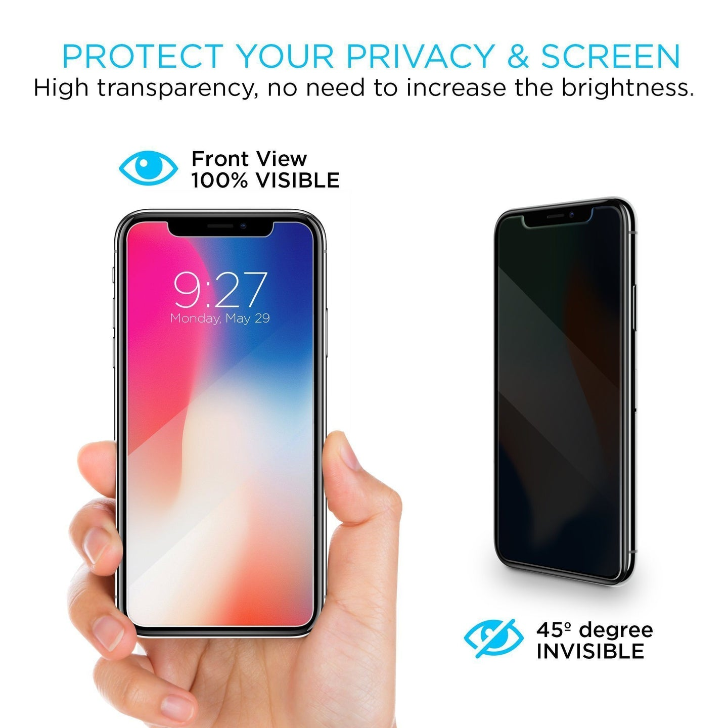 Screen Patrol - Privacy Glass - iPhone XS / X