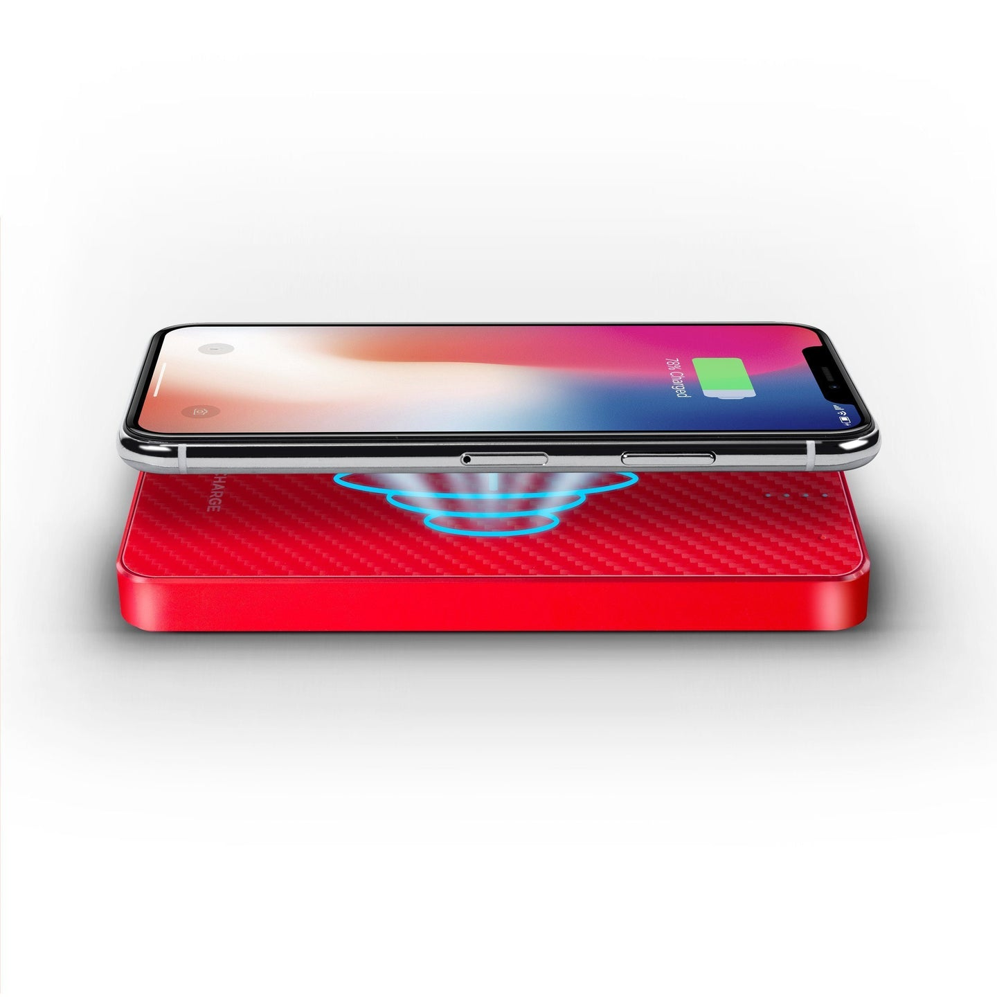 Wireless Charging Power Bank - Stealth - Ruby Red