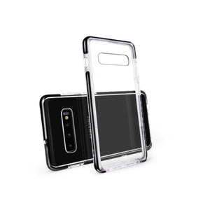Samsung Galaxy S10 Plus - Fremont Clear Tough  Case - Black