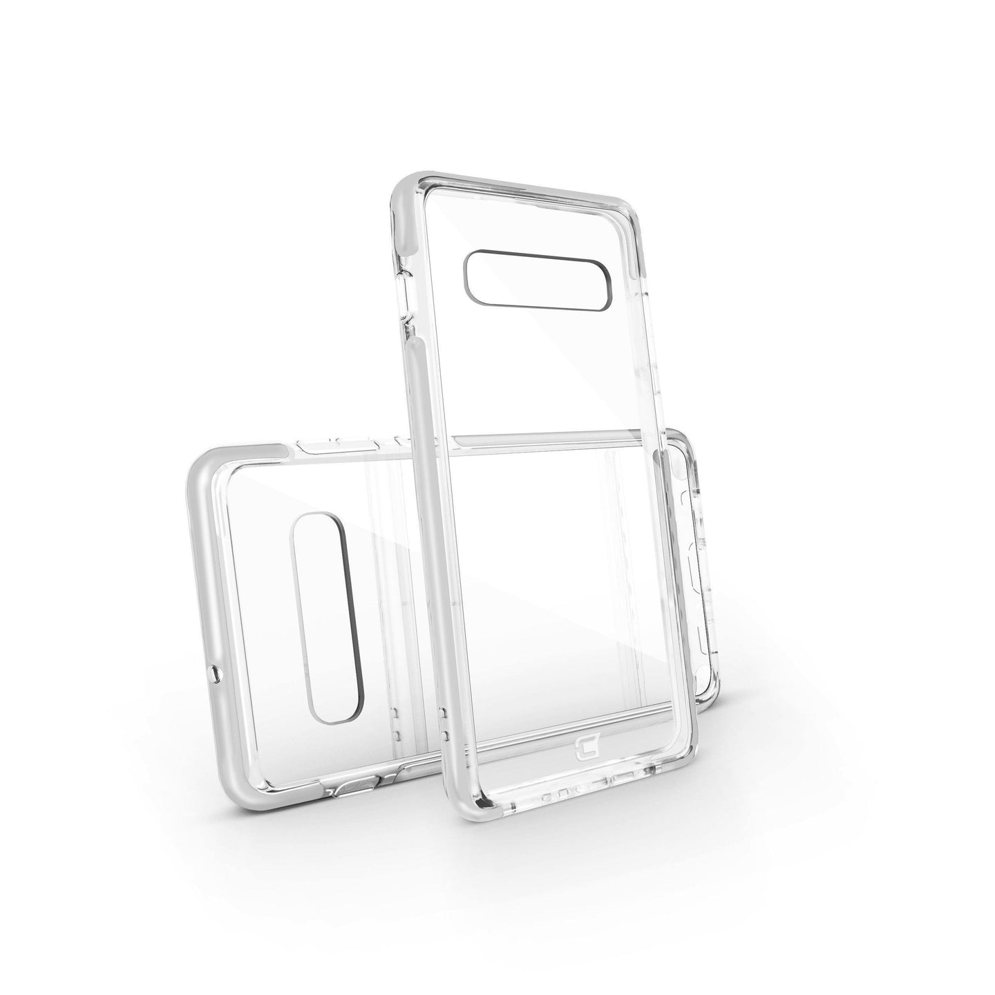 Samsung Galaxy S10 Plus - Fremont Clear Tough  Case - White