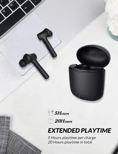 Bluetooth 5.0 Wireless Earbuds Bluetooth Noise-Cancellation