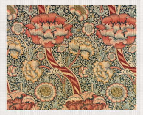 Floral Ribbons Rug, William Morris