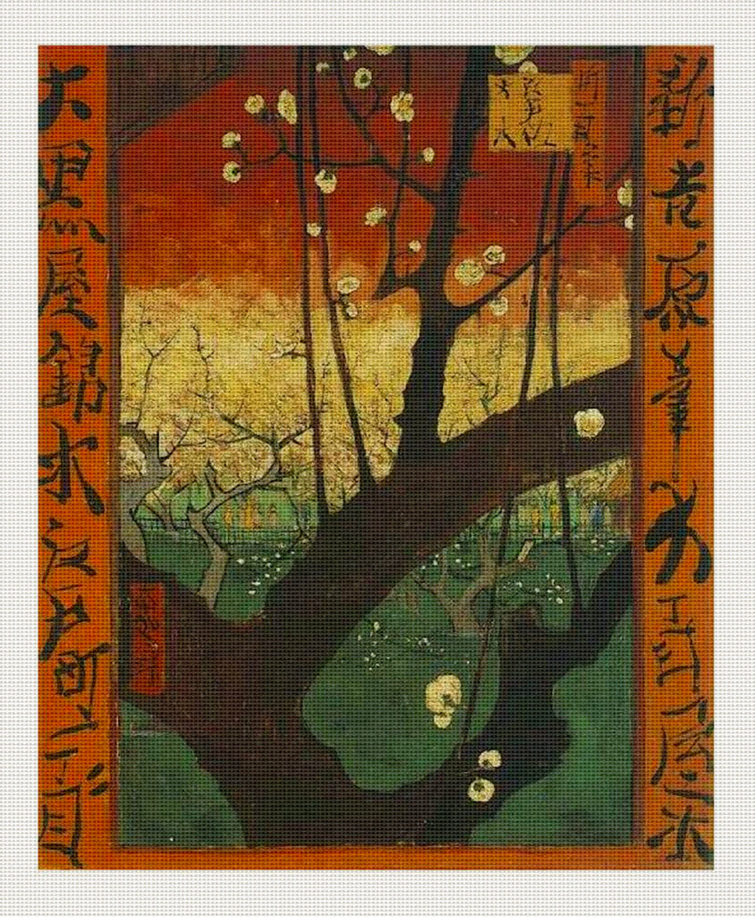 Japonaiserie Flowering Plum Tree, Van Gogh