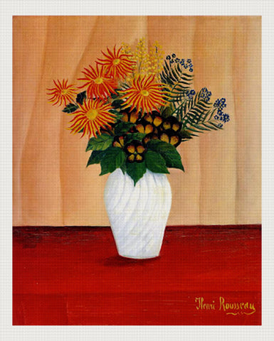 Bouquet of Flowers Kit, Rousseau, Henri Julien