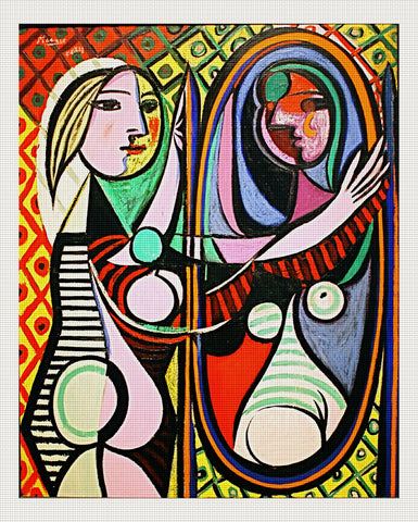 Girl Before A Mirror, Pablo Picasso