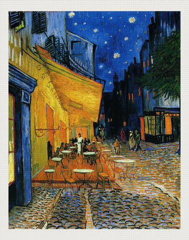 Café Terrace on the Place du Forum, Van Gogh
