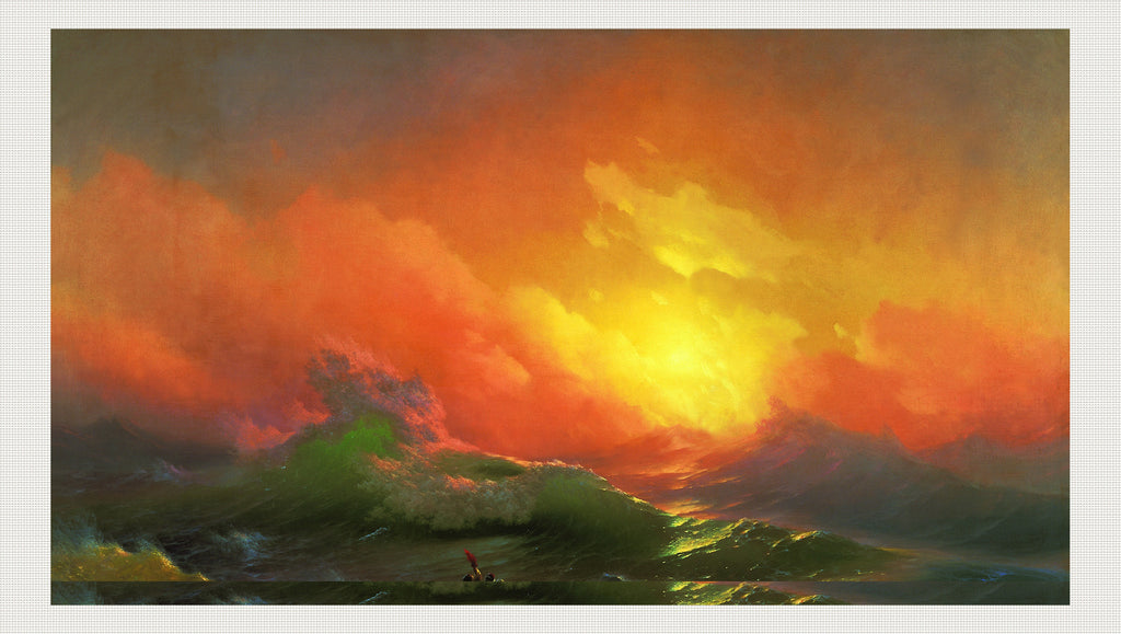 The Ninth Wave, Ivan Aivazovsky