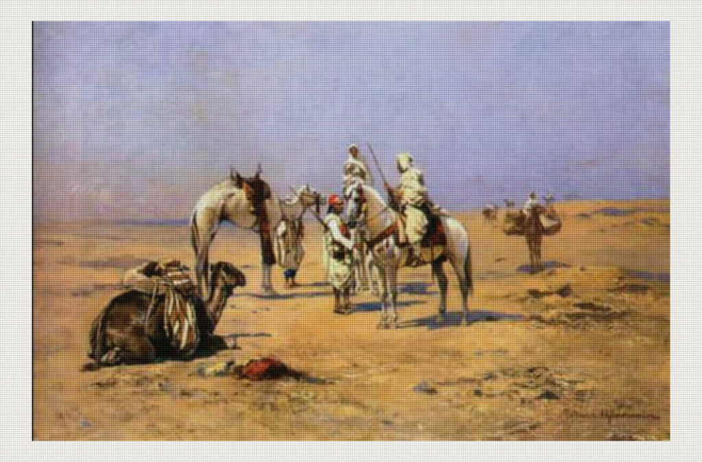Meeting in the Desert, Thaddaus von Ajdukiewicz